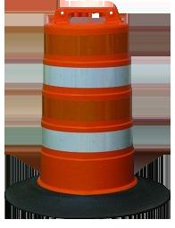 traffic-barrel
